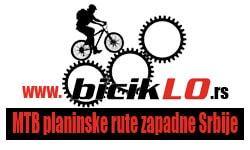 biciklo, sajt za planinske rute MTB