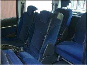 putnički minivan fiat, kombi prevoz putnika i iznajmljivanje profesionalnog vozača